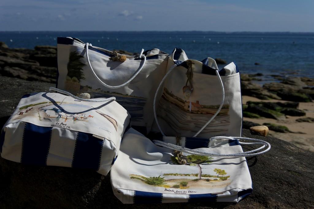 sac de style marin Noirmoutier
