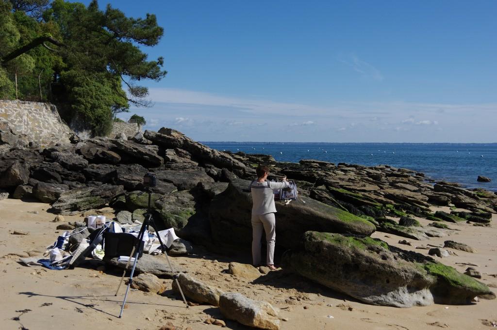 shooting photo au Bois de la Chaise pour Un Her d'ocean