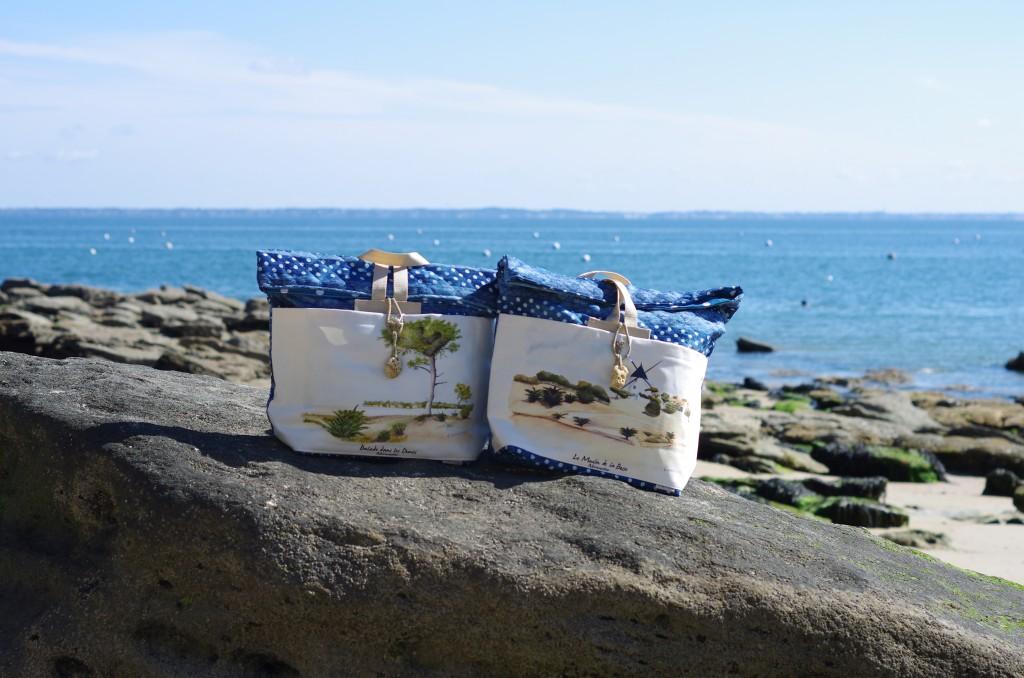 le sac de plage de Noirmoutier