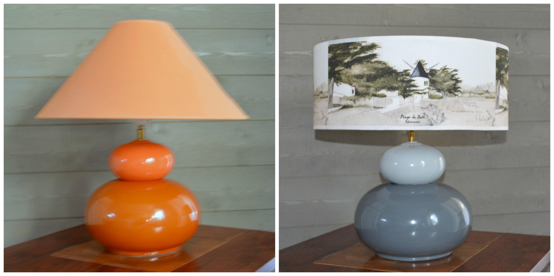 Comment Customiser Une Lampe De Chevet relooker une lampe ancienne - un her d'océan