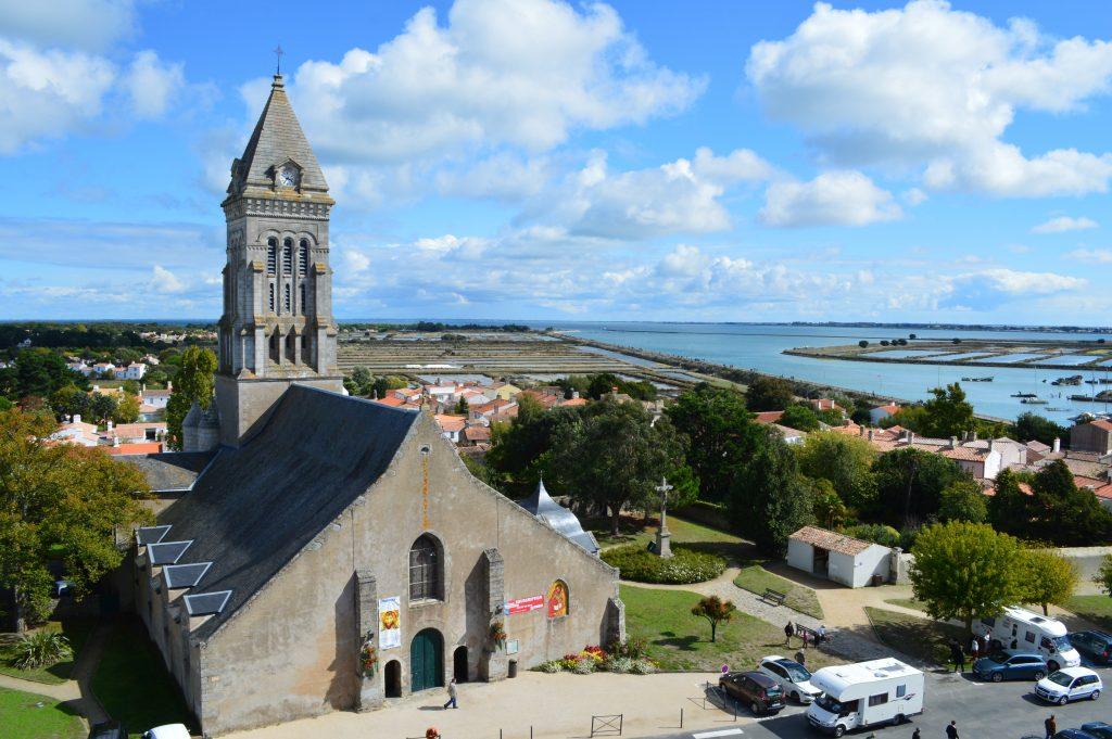 vue depuis le châteaude NOirmoutier