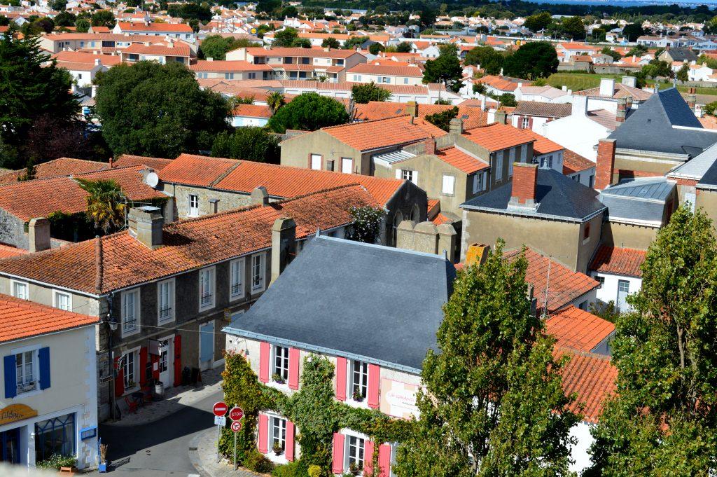 vue depuis le château de Noirmoutier
