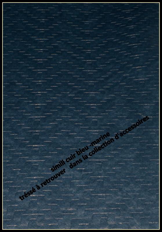 """simili-cuir """" Un her d'ocean"""""""