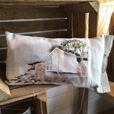 coussin lin cabine