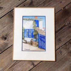 La maison bleue - Noirmoutier
